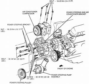 Pontiac Power Steering Pump Diagram