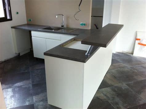 sol cuisine béton ciré beton cire blanc stunning italienne avec revtement
