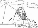 Coloring Pyramid Colorear Dibujos Dibujo Egipto Piramides Dibujar Esfinge Sphinx Egipcia Egipcios Google Imagui Imprimir Mundo Arte Colorare Buscar Disegni sketch template