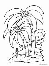 Palm Coloring Tree Pages Printable Colouring Template Leaf Trees Redwood Drawing Recommended Coconut Colors Templates Mycoloring sketch template