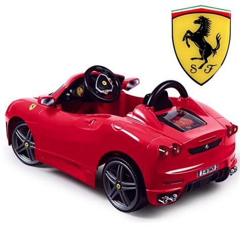 kid motorized car buy ferrari kids electric cars 6v 12v ferrari ride ons