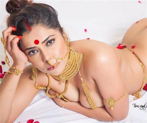 sexy desi model farrah kader hot sizzling nude photoshoot hot4sure