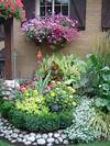 Beautiful Garden Scene #colour #flowers #plants #nature # beautiful flower gardens pinterest