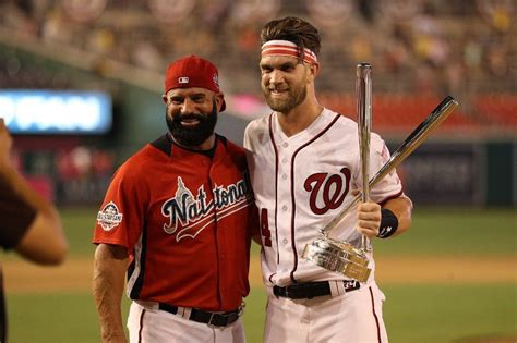 bryce harper   dad   bent home run derby