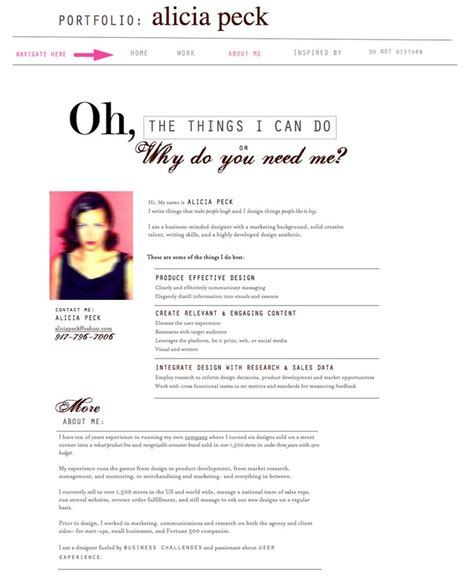 Resume About Me by 12 Best About Me Resume Images On Curriculum