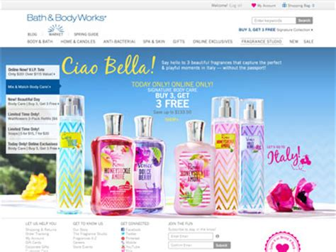 And Bath Collection Website by Bath Works Italian Collection Bath Fragrance