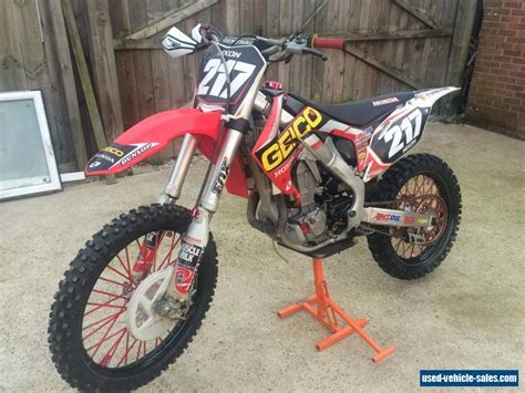 2011 Honda Crf 450r For Sale In The United Kingdom