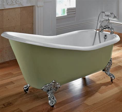 bathroom designs with clawfoot tubs small bathroom ideas with green clawfoot tub design
