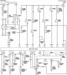 1986 Honda Civic Wiring Diagram