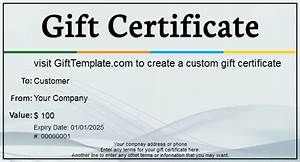 gift certificate templates free gift certificate With free online gift certificate maker template