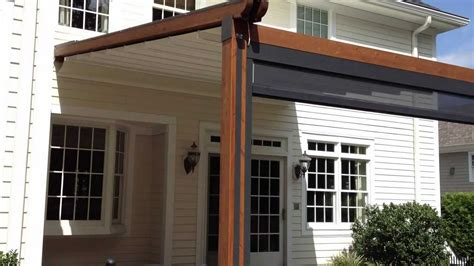 durasol awnings  gennius  waterproof retractable awning youtube