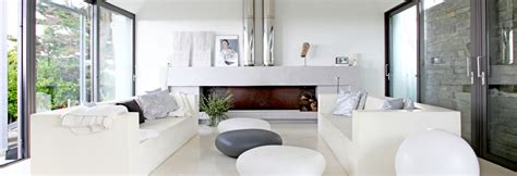 decoration chambre moderne canapé devant baie vitrée où le placer pour profiter de