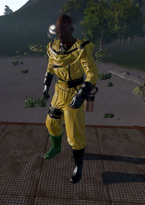 hazmat rust helmet boots armor pants wikia 5e wiki fandom