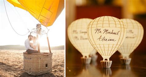 Wednesday Wedding Inspiration Hot Air Balloons Baby