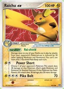 Raichu ex - EX Emerald #97 Pokemon Card