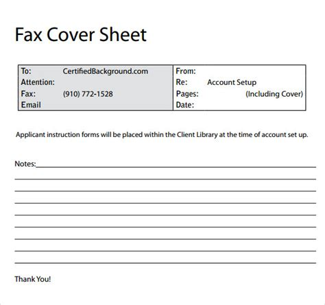 Professional Cover Sheet by 11 Sle Fax Cover Sheets Sle Templates