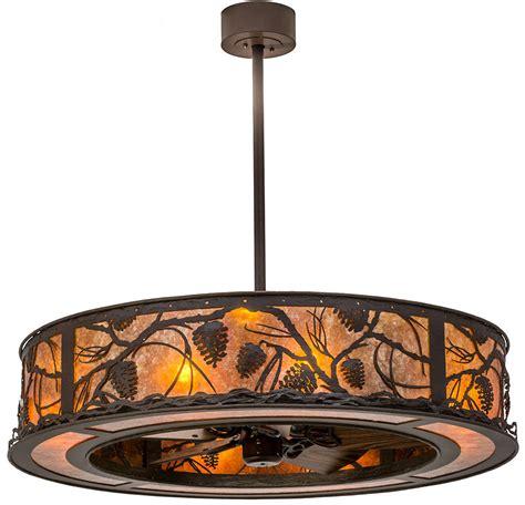 meyda tiffany ceiling fans meyda tiffany 171629 whispering pines rustic cafe noir