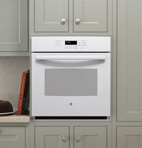 jkdfww ge  built  single wall oven white