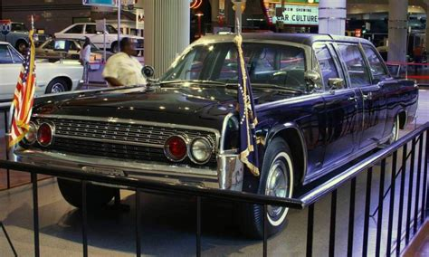 Jfk Limousine by We Lincoln S Past Present And Future 1961