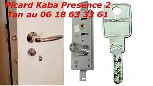 tutoriel changer de cylindre de serrure kaba picard With changer cylindre serrure
