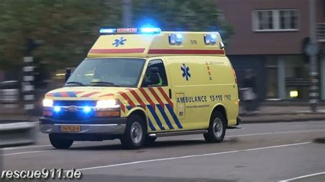 ambulance ggd amsterdam collection youtube