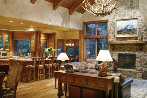 ranch house plan living room photo  plan