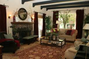 Orange And Brown Living Room Ideas Image