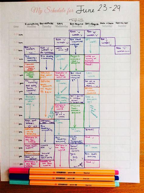 study inspo     summer study schedule study