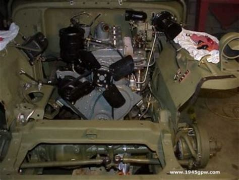 wwii jeep engine g503 wwii jeep steps to remove the go devil engine from