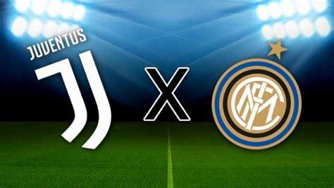 Juventus x Inter: onde assistir e horário do jogo
