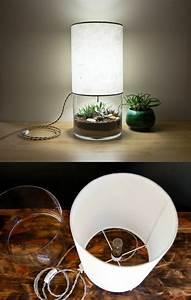 Lampenschirm Für Alte Stehlampe : diy lampe 76 super coole bastelideen dazu ~ A.2002-acura-tl-radio.info Haus und Dekorationen