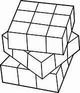 Cube Coloring Rubiks Kolorowanki Kostka Rubika Dzieci Dla Alfabetizar Atividade Cubo Rubik Desenhos Colorir Pinturas sketch template