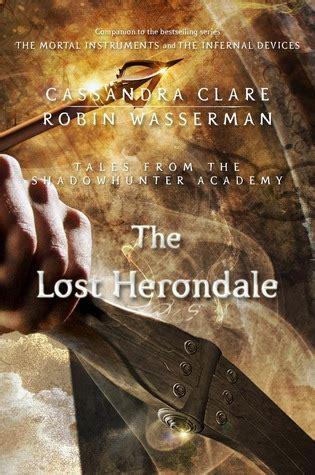 lost herondale  cassandra clare