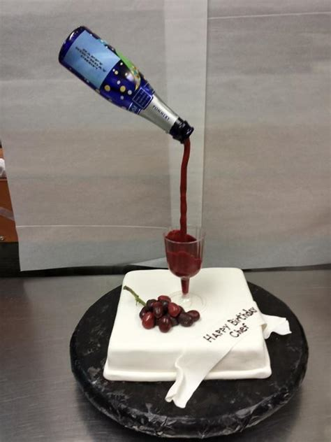 glass cake decoration you to see wine glass cake by chefchris