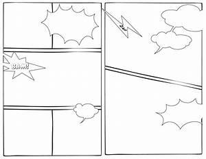 comic book template powerpoint - comic book template