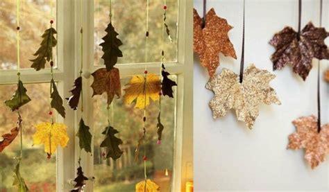 Einfache Herbstdeko Für Fenster by Herbstdeko Basteln Mit Kindern 42 Ganz Einfache Und