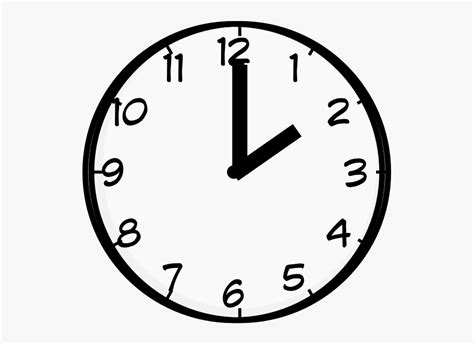 Rounc clock with red needles illustration. 2 O Clock Clipart , Transparent Cartoon, Free Cliparts ...