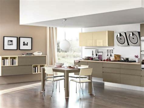 cuisine beige et décoration cuisine moderne beige
