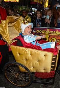 Matt Lauer Halloween Snl by Gma Triumphs In Halloween Morning Show Costume War Prince