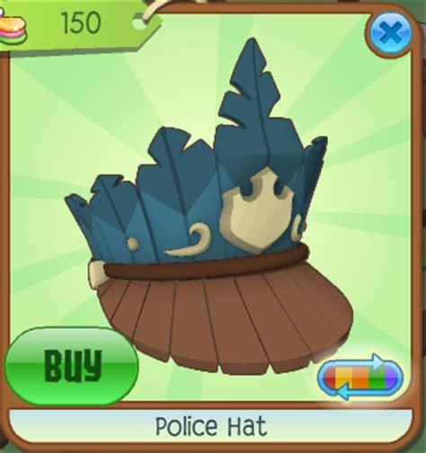 police hat animal jam wiki fandom powered  wikia