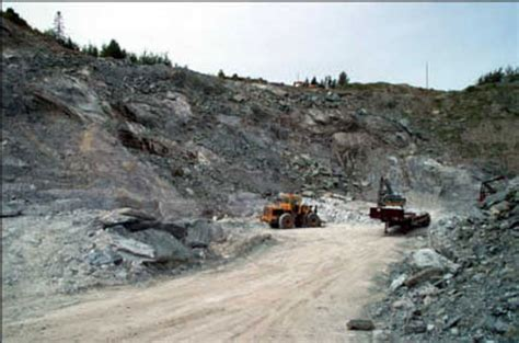 Soapstone Mines by Quarrying Soapstone