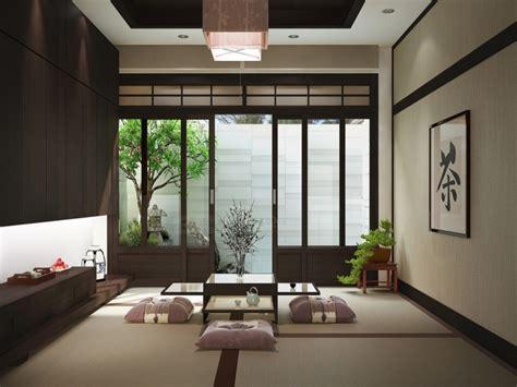 desain interior ruang tamu minimalis gaya jepang
