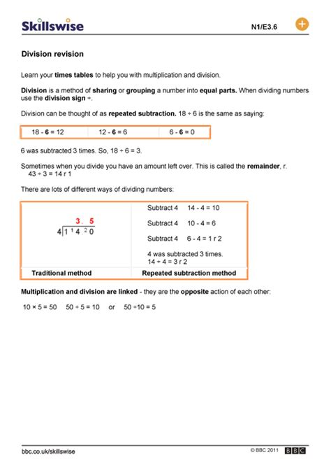 division revision worksheets repeated subtraction word problems worksheets