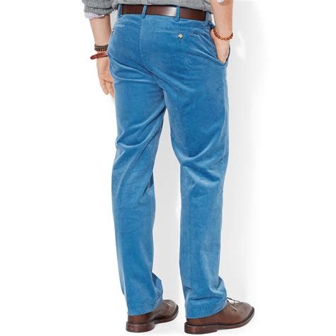 light blue corduroy pants mens men polo polo shirts male models picture