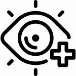 Ophtalmologie Icon Icons Svg Augenheilkunde Lineal Stil