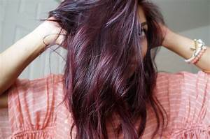 Plum Brown Hair on Pinterest | Purple Brown Hair, Dark ...