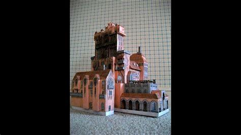 paper model   twilight zone tower  terror