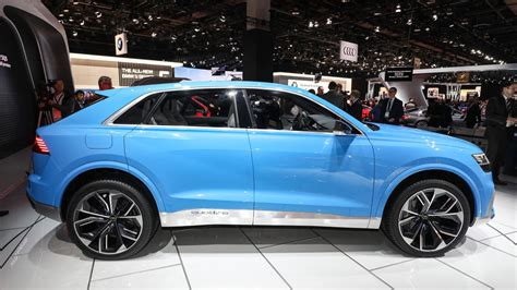 Audi Q8 Concept Previews Future Flagship Coupesuv
