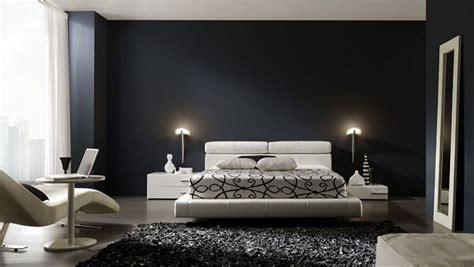 d馗oration chambre noir et blanc décoration chambre et blanc