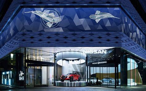 Nissan Showroom In Tokio by Automotive Showrooms Nissan Inszeniert Autos Seit 55